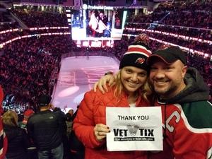 wesley attended New Jersey Devils vs. Detroit Red Wings - NHL on Dec 27th 2017 via VetTix