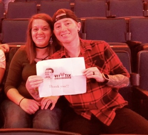 Vanessa attended Katy Perry: Witness the Tour on Dec 15th 2017 via VetTix