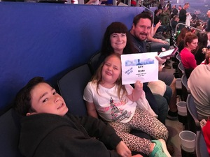 Jeffrey attended Katy Perry: Witness the Tour on Dec 15th 2017 via VetTix
