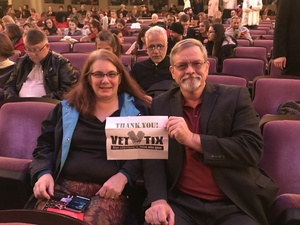 Francis attended The Nutcracker - Presented by Texas Ballet Theater on Dec 17th 2017 via VetTix