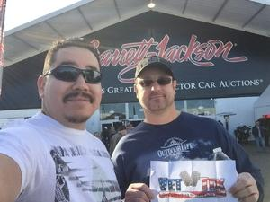Click To Read More Feedback from Barrett Jackson - the Worlds Greatest Collector Car Auctions - 1 Ticket Equals 2 - Sunday