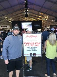Joshua attended Barrett Jackson - the Worlds Greatest Collector Car Auctions - 1 Ticket Equals 2 - Sunday on Jan 14th 2018 via VetTix