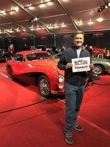 Jorn attended Barrett Jackson - the Worlds Greatest Collector Car Auctions - 1 Ticket Equals 2 - Sunday on Jan 14th 2018 via VetTix