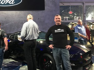 Thomas attended Barrett Jackson - the Worlds Greatest Collector Car Auctions - 1 Ticket Equals 2 - Sunday on Jan 14th 2018 via VetTix
