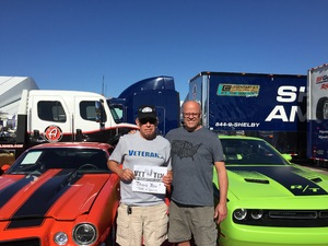 RONALD attended Barrett Jackson - the Worlds Greatest Collector Car Auctions - 1 Ticket Equals 2 - Monday on Jan 15th 2018 via VetTix