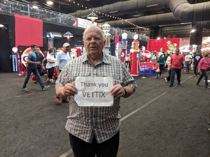 Leslie attended Barrett Jackson - the Worlds Greatest Collector Car Auctions - 1 Ticket Equals 2 - Monday on Jan 15th 2018 via VetTix