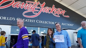 Jeffrey attended Barrett Jackson - the Worlds Greatest Collector Car Auctions - 1 Ticket Equals 2 - Monday on Jan 15th 2018 via VetTix