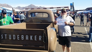Noel attended Barrett Jackson - the Worlds Greatest Collector Car Auctions - 1 Ticket Equals 2 - Monday on Jan 15th 2018 via VetTix