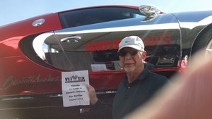 Ron attended Barrett Jackson - the Worlds Greatest Collector Car Auctions - 1 Ticket Equals 2 - Monday on Jan 15th 2018 via VetTix