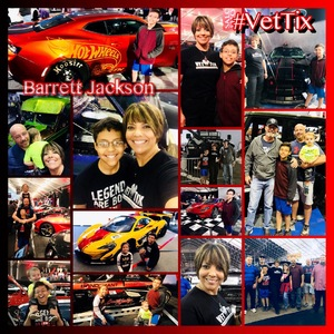 Tisa Ellsworth attended Barrett Jackson - the Worlds Greatest Collector Car Auctions - 1 Ticket Equals 2 - Monday on Jan 15th 2018 via VetTix