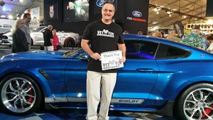 Tom attended Barrett Jackson - the Worlds Greatest Collector Car Auctions - 1 Ticket Equals 2 - Monday on Jan 15th 2018 via VetTix