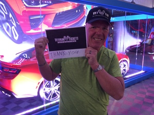 Click To Read More Feedback from Barrett Jackson - the Worlds Greatest Collector Car Auctions - 1 Ticket Equals 2 - Tuesday