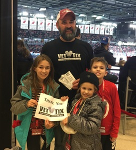 Michael attended New Jersey Devils vs. Philadelphia Flyers - NHL on Jan 13th 2018 via VetTix
