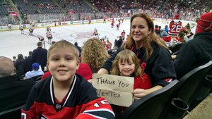 BB attended New Jersey Devils vs. Philadelphia Flyers - NHL on Jan 13th 2018 via VetTix