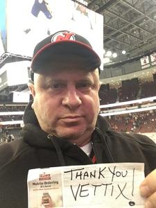Alexander attended New Jersey Devils vs. Nashville Predators - NHL on Jan 25th 2018 via VetTix