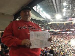 David attended New Jersey Devils vs. Nashville Predators - NHL on Jan 25th 2018 via VetTix