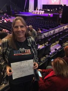 Cathy attended Cirque Holiday Musica Presents Believe on Dec 20th 2017 via VetTix
