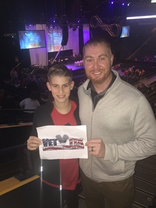 Timothy attended Cirque Holiday Musica Presents Believe on Dec 20th 2017 via VetTix