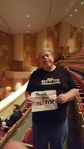 jerry attended The Nutcracker Performed by Ballet Arizona on Dec 16th 2017 via VetTix