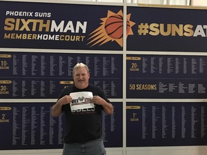 James attended Phoenix Suns vs. Memphis Grizzlies - NBA on Dec 21st 2017 via VetTix