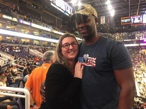 Patrick attended Phoenix Suns vs. Memphis Grizzlies - NBA on Dec 21st 2017 via VetTix