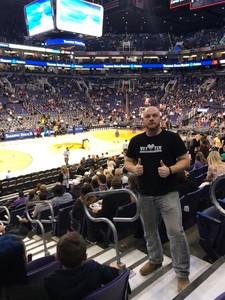 George attended Phoenix Suns vs. Memphis Grizzlies - NBA on Dec 21st 2017 via VetTix