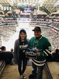 Victor attended Dallas Stars vs. Washington Capitals - NHL on Dec 19th 2017 via VetTix