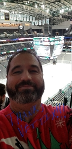 Rick attended Dallas Stars vs. Washington Capitals - NHL on Dec 19th 2017 via VetTix