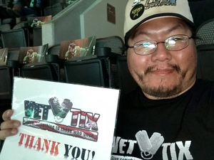 Seung attended Dallas Stars vs. Washington Capitals - NHL on Dec 19th 2017 via VetTix