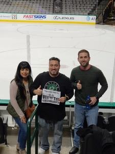 Andrew attended Dallas Stars vs. Washington Capitals - NHL on Dec 19th 2017 via VetTix
