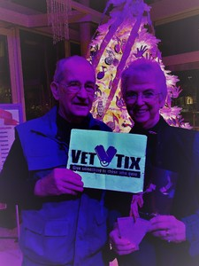 Thomas attended Holiday Cabaret - Christmaz With the Good Feelz on Dec 16th 2017 via VetTix