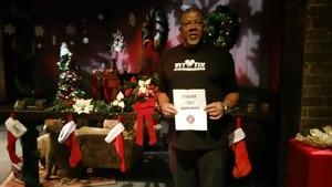 Millard attended Holiday Cabaret - Christmaz With the Good Feelz on Dec 16th 2017 via VetTix