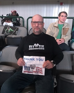 James attended Dallas Stars vs. Columbus Blue Jackets - NHL on Jan 2nd 2018 via VetTix