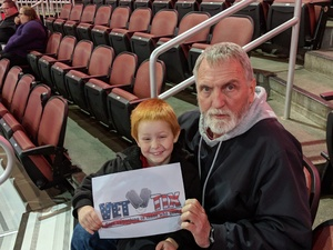 Kenneth attended Wichita Thunder vs. Kalamazoo Wings - ECHL on Jan 6th 2018 via VetTix