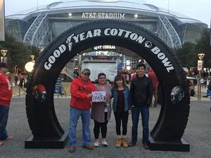 David attended Goodyear Cotton Bowl Classic - USC Trojans vs. Ohio State Buckeyes - NCAA Football on Dec 29th 2017 via VetTix