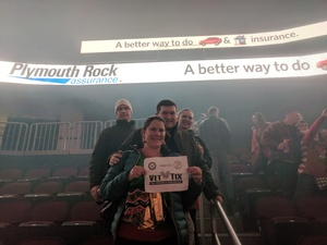 Jaime attended Trans-siberian Orchestra Presented by Hallmark Channel - 8 Pm Show on Dec 26th 2017 via VetTix