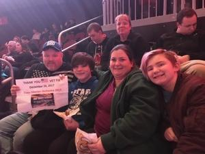 Philip attended Trans-siberian Orchestra Presented by Hallmark Channel - 8 Pm Show on Dec 26th 2017 via VetTix