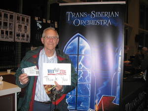 Rick attended Trans-siberian Orchestra Presented by Hallmark Channel - 8 Pm Show on Dec 26th 2017 via VetTix