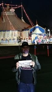 David attended Zoppe - an Italian Family Circus Since 1842 - Friday on Jan 5th 2018 via VetTix