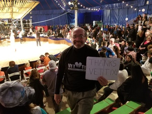 Ronald attended Zoppe - an Italian Family Circus Since 1842 - Friday on Jan 5th 2018 via VetTix