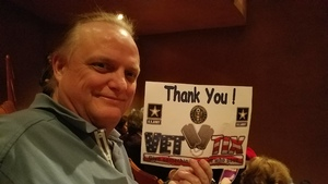 Lance attended Rodgers + Hammerstein's Cinderella - Christmas Eve Matinee on Dec 24th 2017 via VetTix