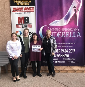 Rebecca attended Rodgers + Hammerstein's Cinderella - Christmas Eve Matinee on Dec 24th 2017 via VetTix