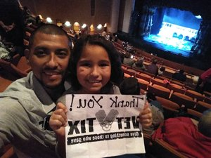 Arturo attended Rodgers + Hammerstein's Cinderella - Christmas Eve Matinee on Dec 24th 2017 via VetTix