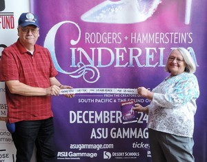 James attended Rodgers + Hammerstein's Cinderella - Christmas Eve Matinee on Dec 24th 2017 via VetTix