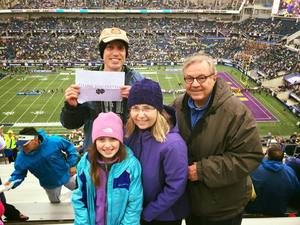 Jason attended Citrus Bowl Presented by Overton's - Notre Dame Fighting Irish vs. LSU Tigers - NCAA Football on Jan 1st 2018 via VetTix