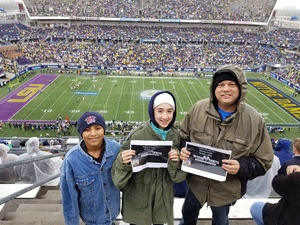 Richard attended Citrus Bowl Presented by Overton's - Notre Dame Fighting Irish vs. LSU Tigers - NCAA Football on Jan 1st 2018 via VetTix