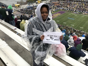 Keishia attended Citrus Bowl Presented by Overton's - Notre Dame Fighting Irish vs. LSU Tigers - NCAA Football on Jan 1st 2018 via VetTix