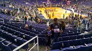 Vernon attended Phoenix Suns vs. Philadelphia 76ers - NBA on Dec 31st 2017 via VetTix