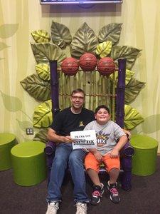 Gregory attended Phoenix Suns vs. Philadelphia 76ers - NBA on Dec 31st 2017 via VetTix
