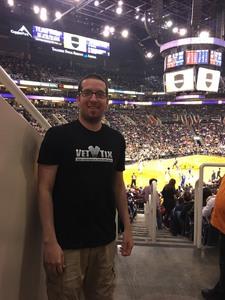 Shawn attended Phoenix Suns vs. Philadelphia 76ers - NBA on Dec 31st 2017 via VetTix